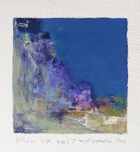 Mar. 24 2017 Original Abstract Oil Painting by hiroshimatsumoto