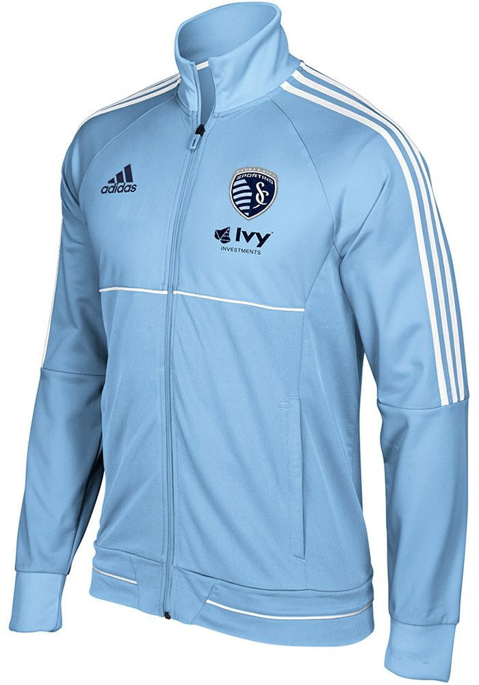 Adidas Sporting Kansas City Mens Light Blue Anthem Track Jacket  sc 1 st  Pinterest & Best 25+ Adidas track jacket mens ideas on Pinterest | Adidas ... azcodes.com