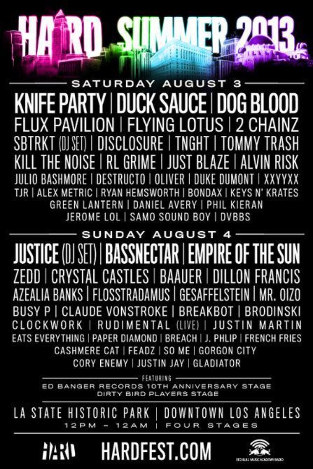 Hard Summer it's going down! GOING