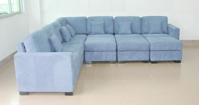 Baby Blue Sofa : Blue Leather Sofa - Bing Images  Blue  Pinterest  Sectional Sofas ...