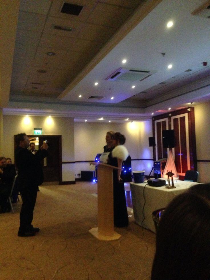 MK's Amy receiving her award for 'star member'. #starmember #JCI