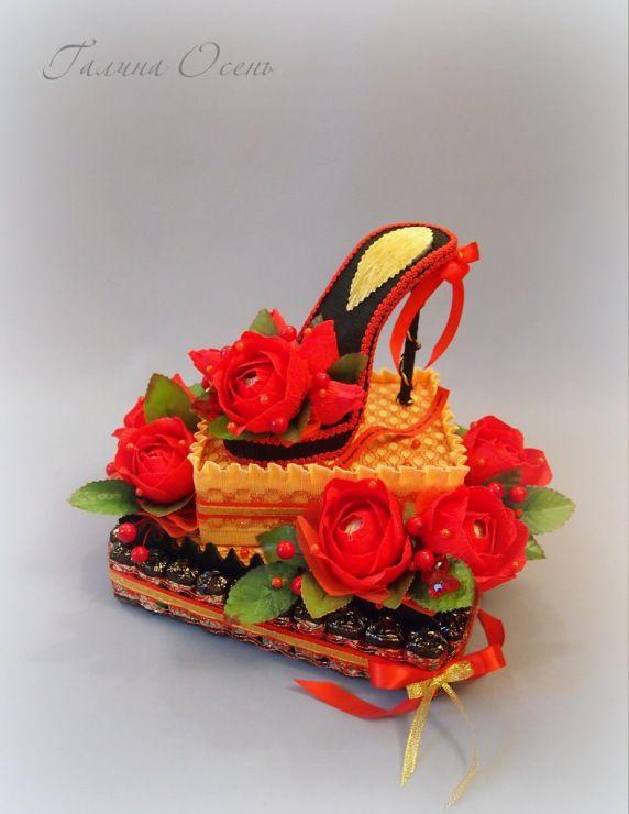 Gallery.ru / Туфелька на торте - Веера и другие женские штучки - galley