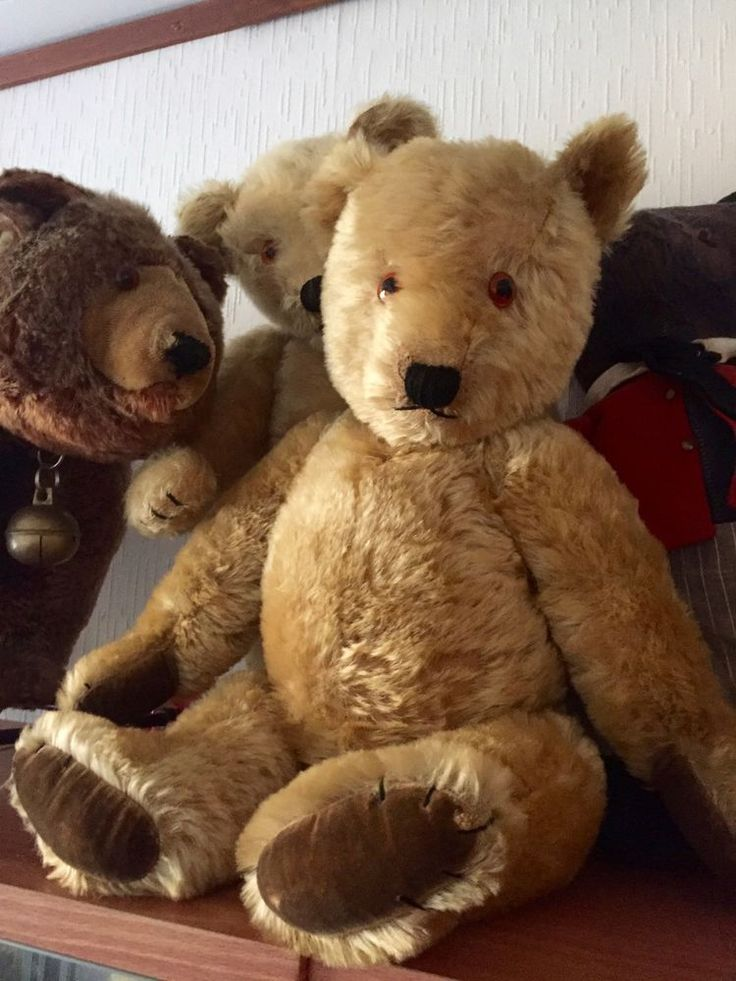 Old Large Chiltern Hugmee Old Teddy Bear Circa 1940 | eBay
