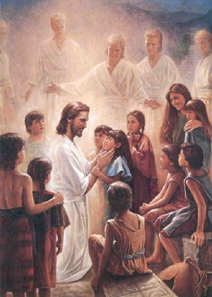Christ And Children Infinite Worth Perfect Love Mother's Love Jesus As A Little Child In The Arms Of His Love Birth Of Jesus Jesus Teaches The Children For Such Is The Kingdom Of Heaven Story Time ...