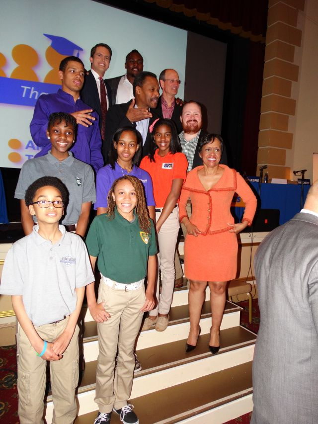 Judge Hatchett, Kevin Gillespie Help Raise $210K for KIPP Schools - AJC | April 11, 2014