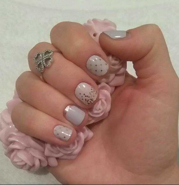 Jamberry - hug me tight, cascade of love and crescent glam