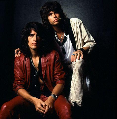 Steven Tyler & Joe Perry
