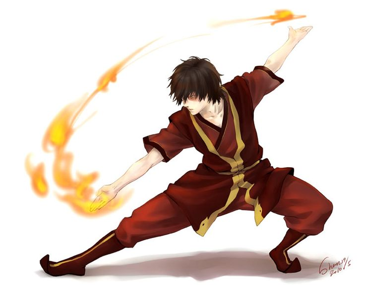 Tags: Anime, Fire, Fight Stance, Red Outfit, Avatar: The Last Airbender, Zuko, Shan