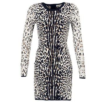 Krátké šaty MICHAEL Michael Kors ANIMAL JACQUARD DRS