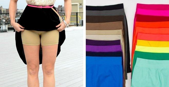 Seamless Slip Shorts – Wear Under Dresses & Skirts