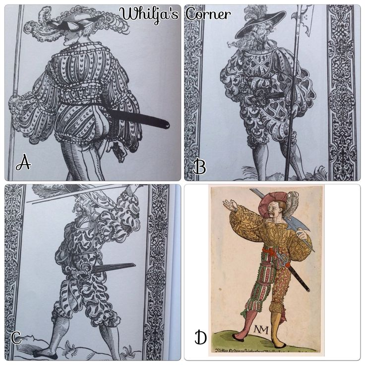 Different ways to slash your 16th century German outfit Oct20