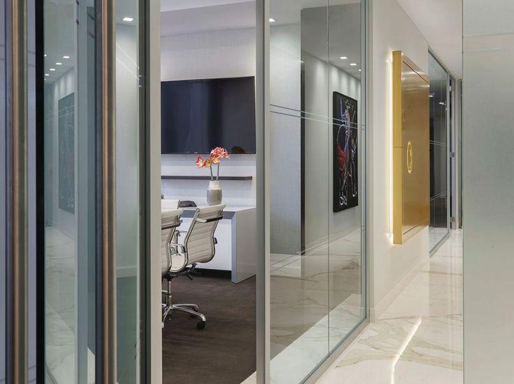 Panning Capital Management  Designer: Nelson    #panningcapitalmanagement #office #nelson #tagwall #slimline #interiordesign #officedesign #walldesign #workspaces