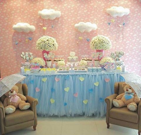 CHÁ DE BEBÊ MENINO (FESTA) BABY SHOWER BOY (PARTY)