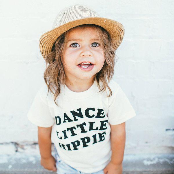 Dance Little Hippie - Organic Tee