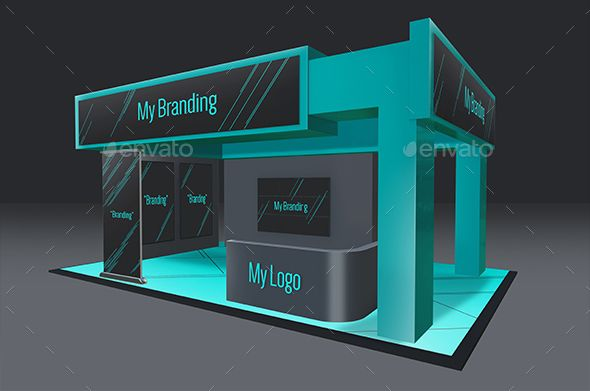 Exhibition Stand Mockup : Multi exhibition stand mock up exhibition multi mock