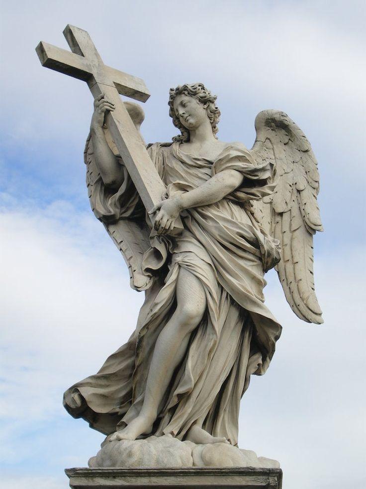 Bernini Angel Sculptures | Bernini sculpture Sant'Angelo by Draco-Further