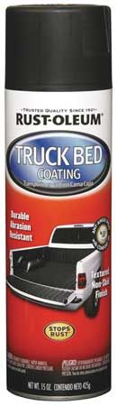 Truck Bed Coating Spray, Black, 15 oz