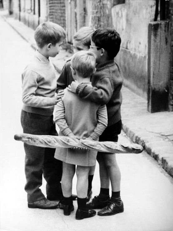 by Raymond Prunin  Children, Paris 1950