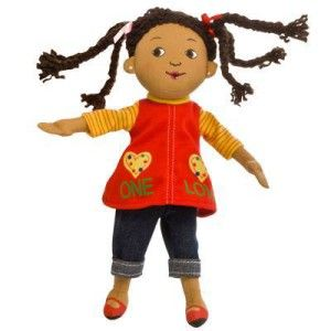 """This doll is from the highly anticipated Children's Picture Book, """"One Love"""" based on the timeless Bob Marley classic and adapted by his daughter, ..."""