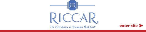 Riccar : Vacuum Cleaners - Upright, Canister, 8-Pound, Central Vacuums
