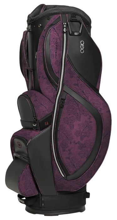 Merlot Ogio Women's Majestic Golf Cart Bag available at #lorisgolfshoppe