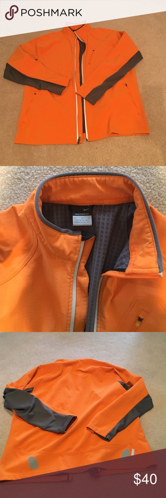 Men's Nike Golf Jacket Nike Sphere Pro golf size XL jacket. Good condition, worn a few times. A little marking on bottom side as shown in picture. Nike Jackets & Coats