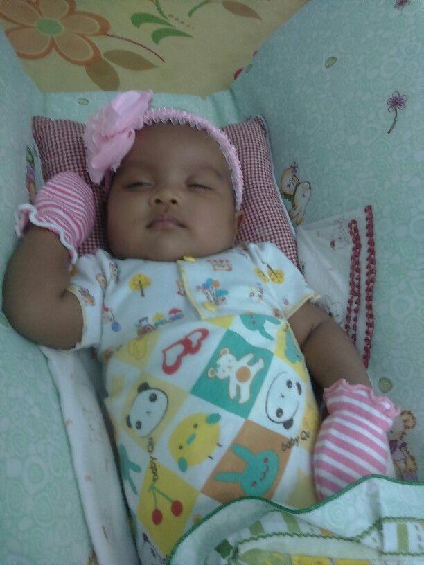Sweat baby girl, she's name Kia Belle