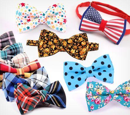 Внимание, стиляги! Яркие галстуки-бабочки от 85 грн / Акции