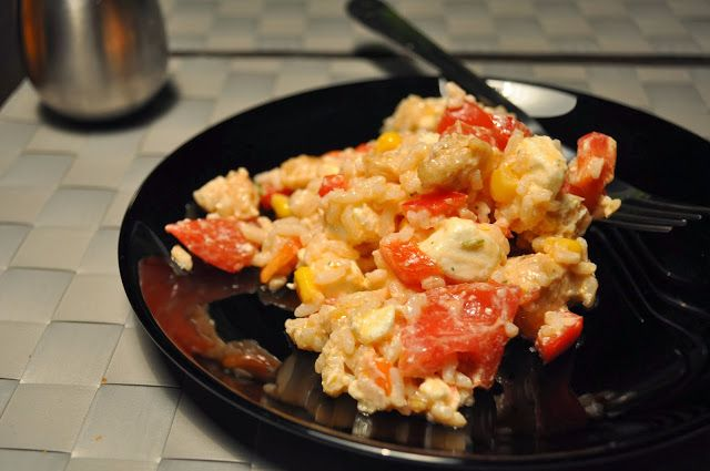 Kuchnia pełna pasji: Sałatka z ryżem i fetą