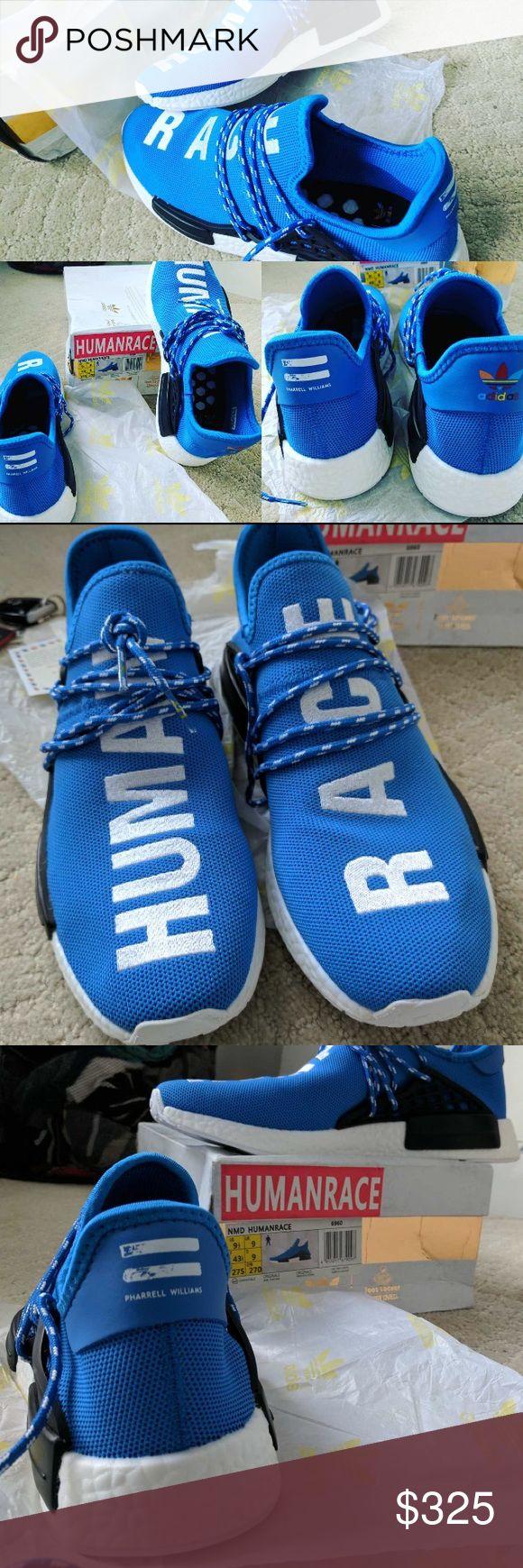 Pharrell X Cheap Adidas Nmd Human Race Red Urban Necessities