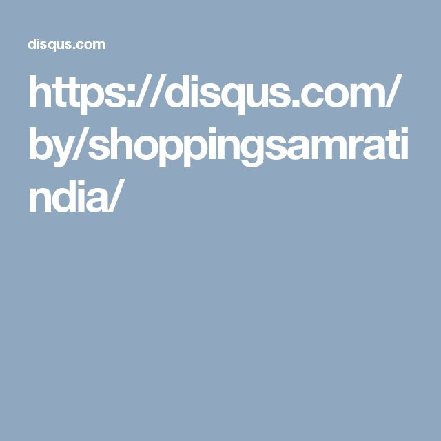https://disqus.com/by/shoppingsamratindia/
