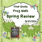 Welcome to Frog Math: First Grade Spring Review. $10  This is the final of three Frog Math reviews of the First Grade Common Core Math Standards.  Thi...