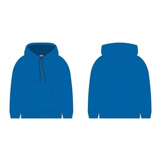 Download Blue Hoodie Technical Sketch Hood For Men Technical Design Casual Urban Style Hoodies Hoodie Template