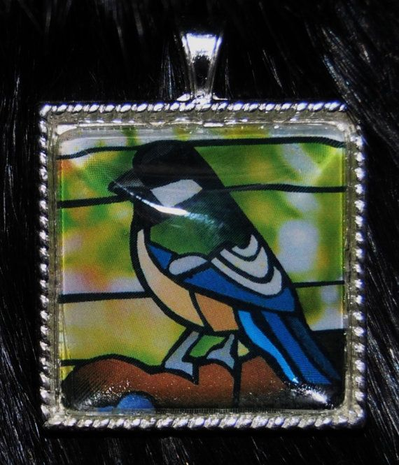Sparrow Pendant by KabloonaKreations on Etsy, $18.00