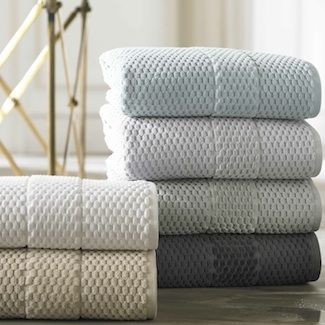 San Marcoby Kassatex, Towel Set (Bath+Hand+Wash)