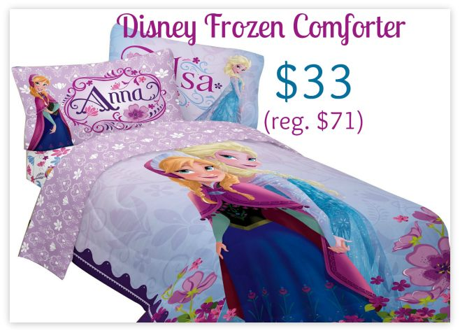 Disney Frozen Comforter $33 (Save $38), http://www.savingeveryday.net/disney-frozen-comforter-33-save-38/