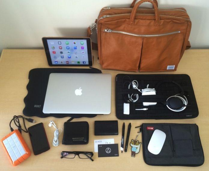 これだけでノマドスタイルもOK! | akiraのバッグの中身 - インマイバッグ