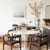 Marina-ht15_square100: Dining Rooms,  Boards, White Tables, Apartment Therapy, Dining Chairs, Tulip Tables, Saarinen Tables, Round Tables, Dining Tables