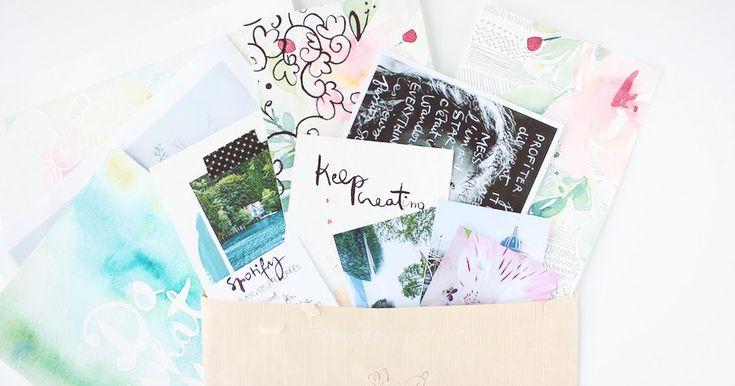Happy Mail d'avril x Les tribulations de Marie