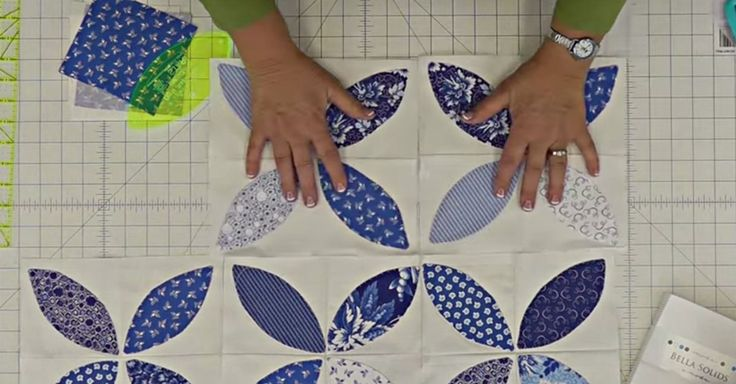This beautiful quilt looks tricky, but don't be fooled, you can make it yourself!