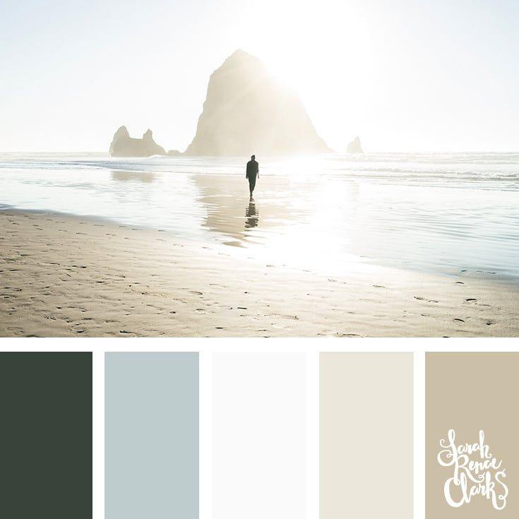 25 Summer Color Palettes Beach Color Palettes Summer Color