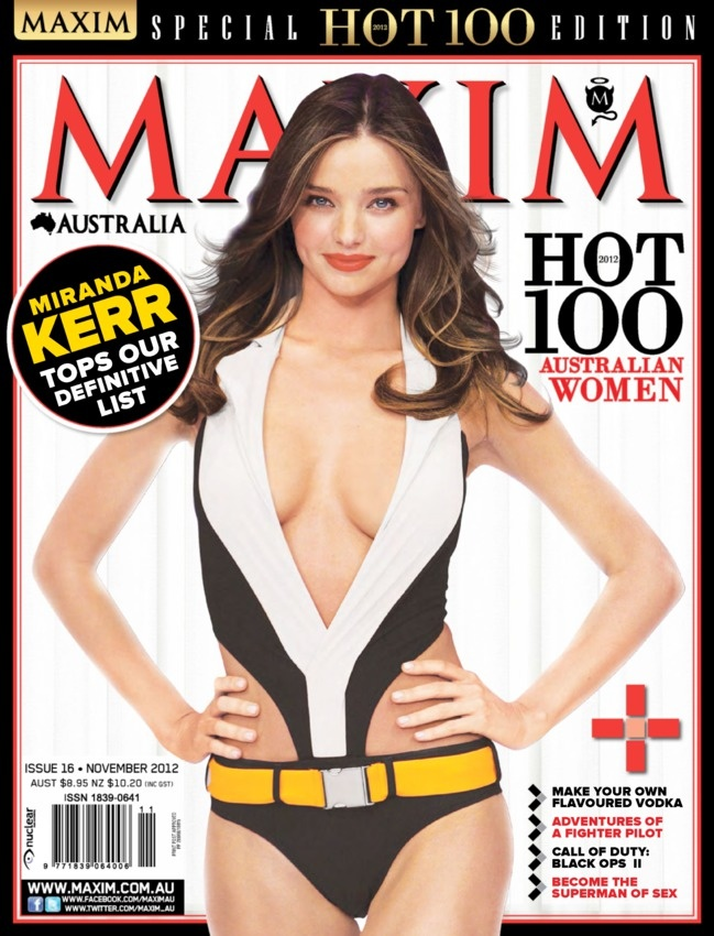 Maxim Australia Magazine - Buy, Subscribe, Download And -3742