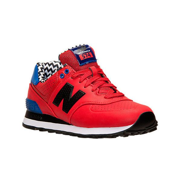 new balance shoes red. new balance women\u0027s 574 acrylic casual shoes, red (120 nzd) ❤ liked on shoes