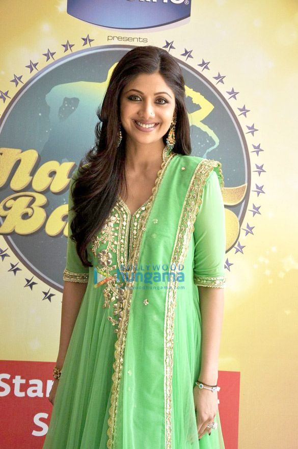 shilpa shetty -mint green salwar