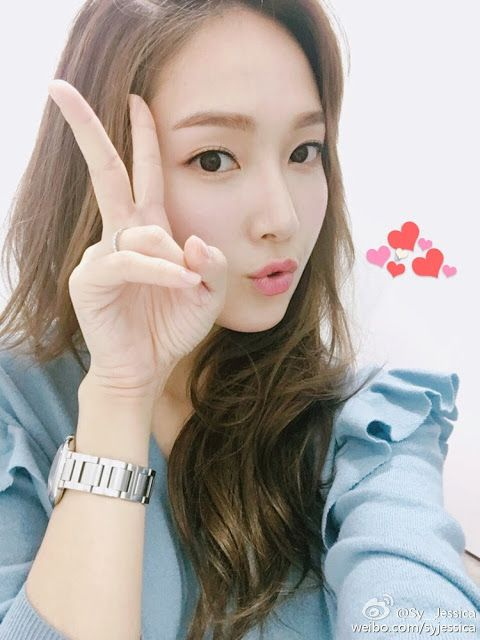 Jessica Jung greets fans with her beautiful selfies ~ Wonderful Generation ~ All About SNSD, Wonder Girls, and f(x)