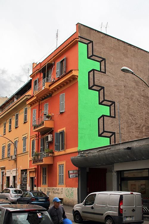 "Aakash Nihalani - ""Spaced"" in Rome."