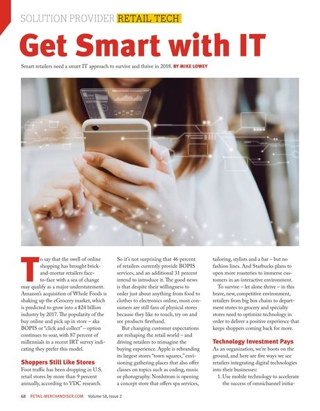 Get Smart with IT. #retailtech #solutionproviders