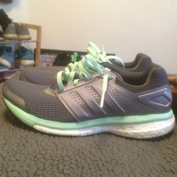 Adidas glide boost Have never worn. Perfect condition. Adidas Shoes Athletic Shoes