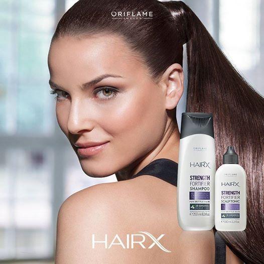 ¿Eres de las que no se corta el pelo por nada del mundo? Cuida esa larga cabellera con Hair X Fortificante, ¡especial para prevenir el quiebre y debilitamiento porque contiene #antioxidantes e incrementa la producción de #queratina! #OriflameMx