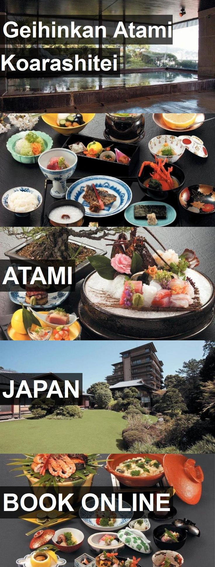 Hotel Geihinkan Atami Koarashitei in Atami, Japan. For more information, photos, reviews and best prices please follow the link. #Japan #Atami #travel #vacation #hotel